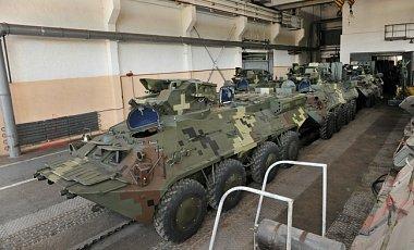 Забракованные Ираком украинские БТРы возвращаются в Одессу