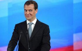 Відомий карикатурист висміяв скандал з прем'єром Росії