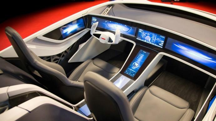 Фирма Bosch построила спидстер с «умным интерьером» (1)