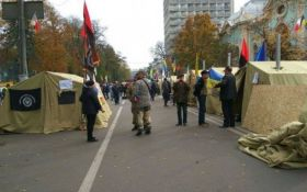 Волонтер закликала екс-бійців АТО не брати участь в мітингах під Радою