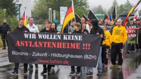 У Німеччині протестують проти напливу мігрантів