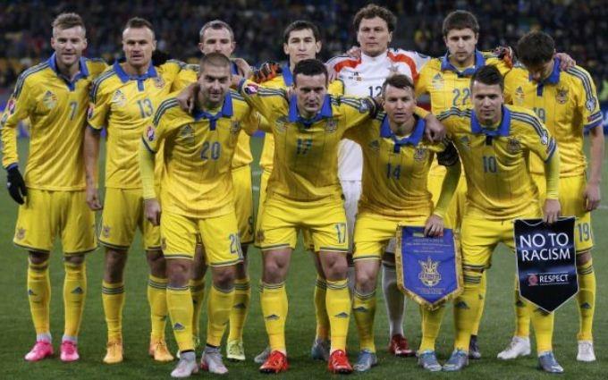 Объявлен состав сборной Украины на мартовские матчи