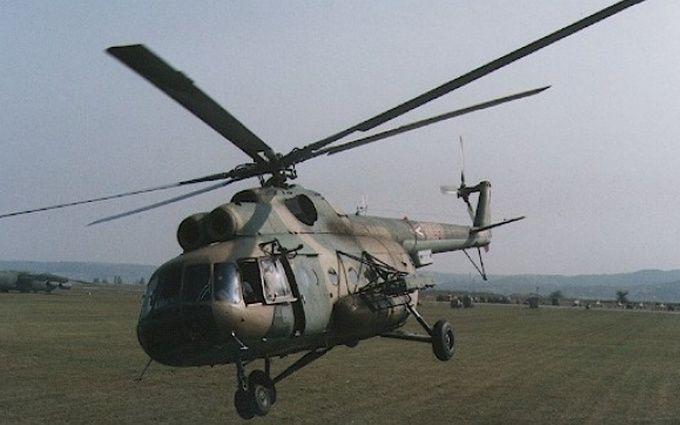 Падение вертолета в Чечне: опубликовано видео с места
