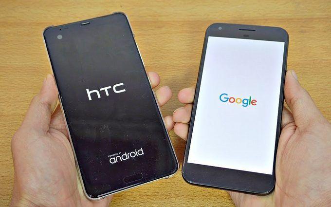 Google поглинув частину виробника смартфонів HTC за $1,1 млрд