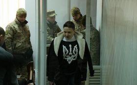 Савченко отличилась очередным резонансным заявлением в суде