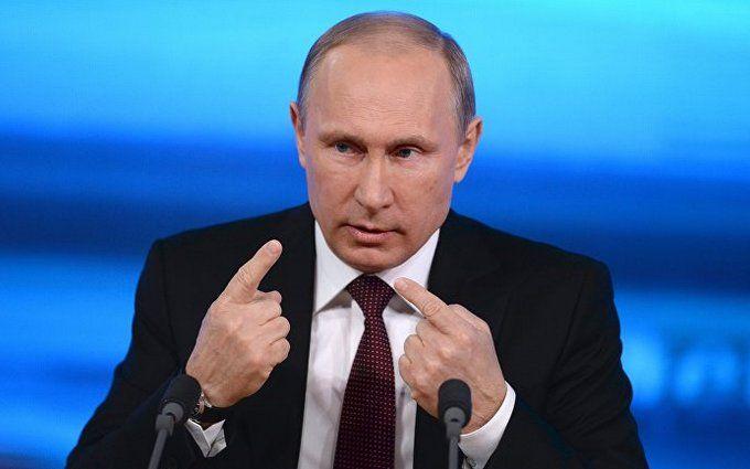 Путин-осьминог: сеть обсуждает новую карикатуру на президента РФ