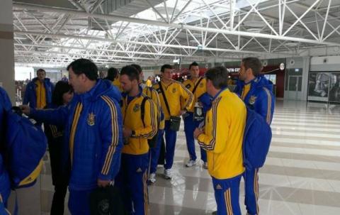 Збірна України вирушила до Македонії на матч Євро-2016