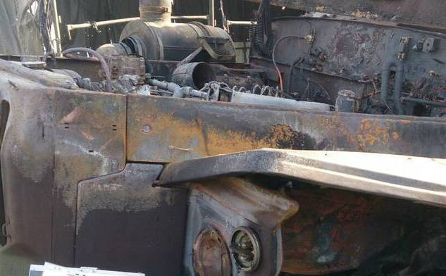 В оккупированом Луганске произошла серия взрывов: боевики потеряли много техники (1)