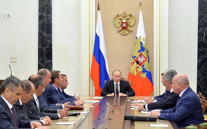 Путін провів нараду з Радою безпеки РФ: з'явилися подробиці