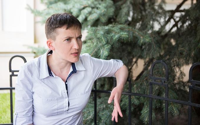 Савченко розповіла, для чого їй розмова з ватажками ДНР-ЛНР