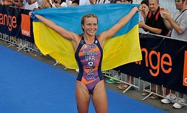Украинская триатлониска выиграла этап Кубка мира (1)