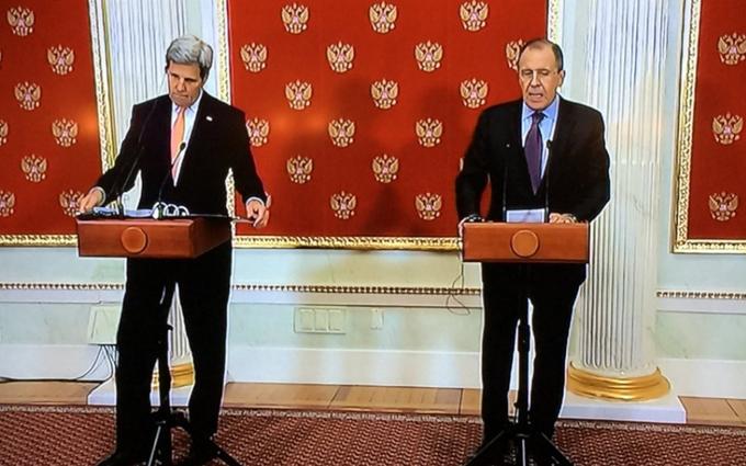 Стало известно содержание разговора Керри с Путиным: об Украине не забыли