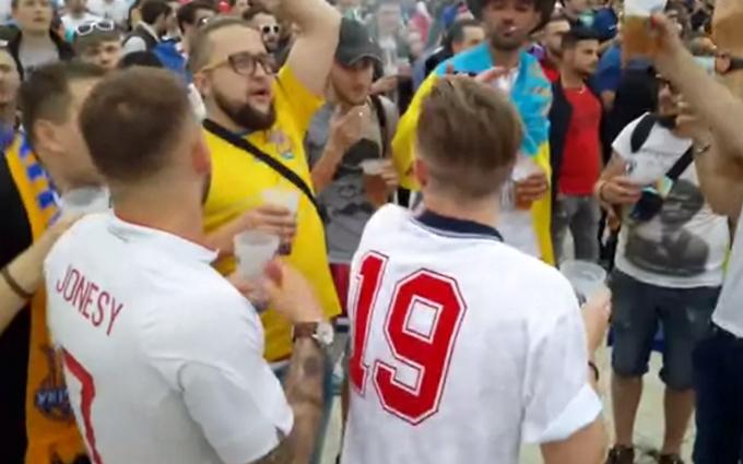 На відкритті Євро-2016 англійці виконали хіт про Путіна: опубліковане відео