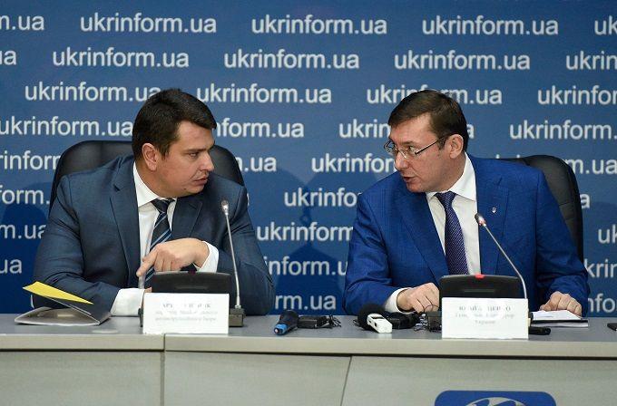 Луценко заперечує війну між ГПУ і НАБУ
