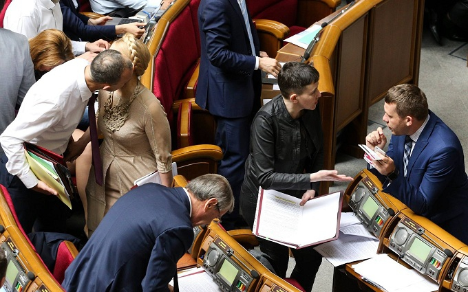 Савченко в Раді видала промову про гранату і Конституцію: з'явилося відео