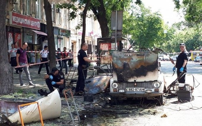 Вцентрі Одеси стався потужний вибух