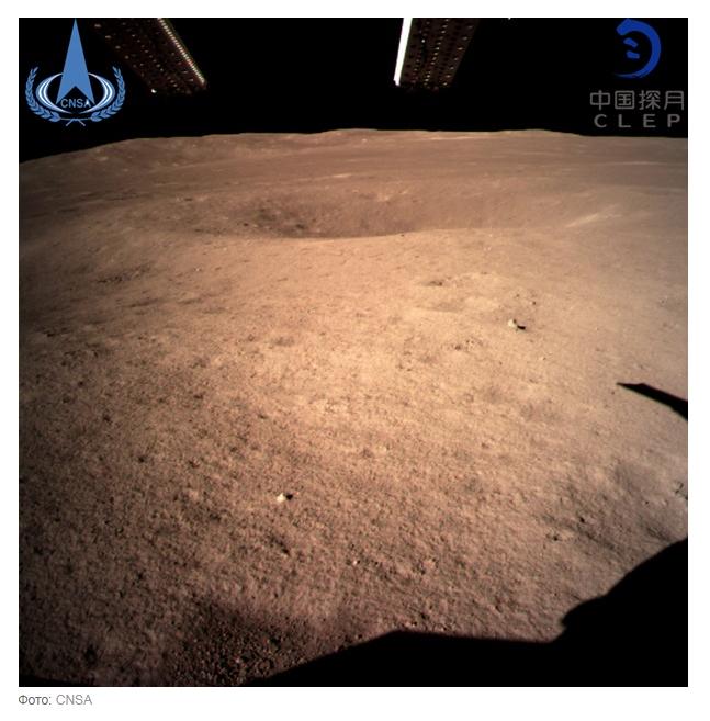 Місяць вперше сфотографували зі зворотнього боку (1)
