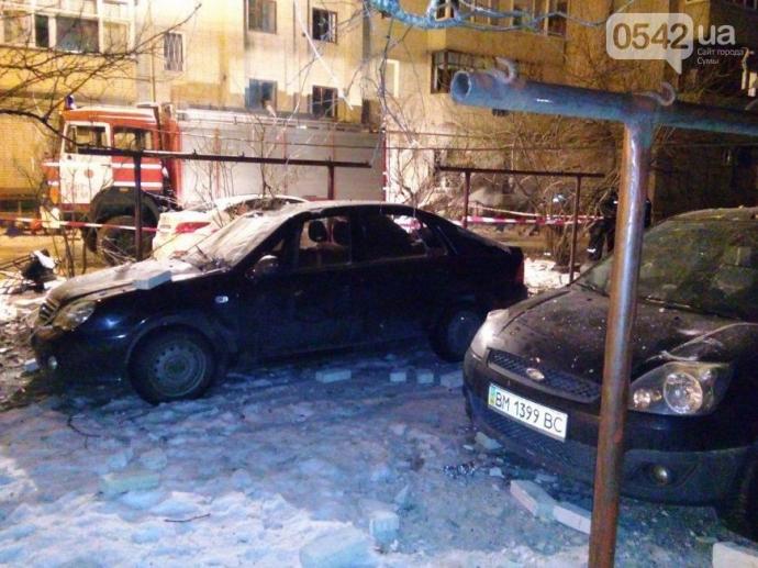 В Сумах произошел мощный взрыв в жилом доме: появились фото, видео и подробности (14)