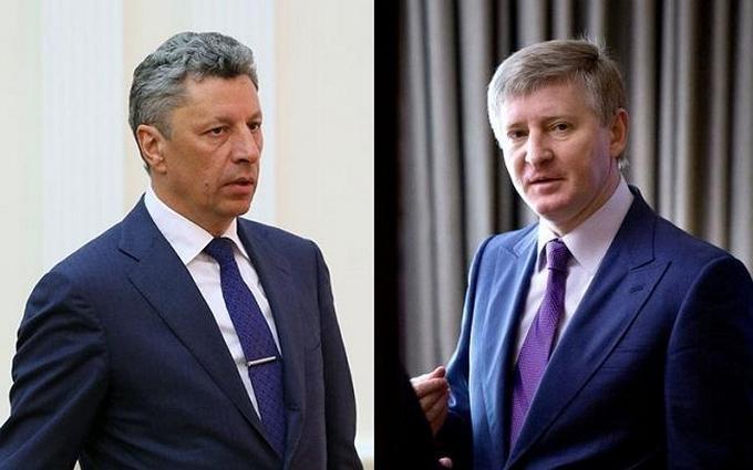 Безсмертный рассказал, кто подал идею отправить Ахметова и Бойко на Донбасс