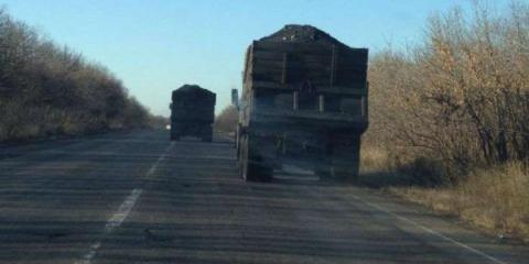 ОБСЄ: луганські бойовики продовжують вивозити вугілля в РФ