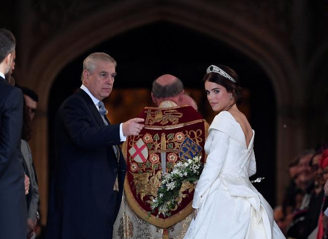Онучка королеви Єлизавети ІІ вийшла заміж - найяскравіші фото (5)
