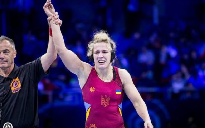 Как украинка Черкасова стала чемпионкой мира по вольной борьбе - впечатляющие видео