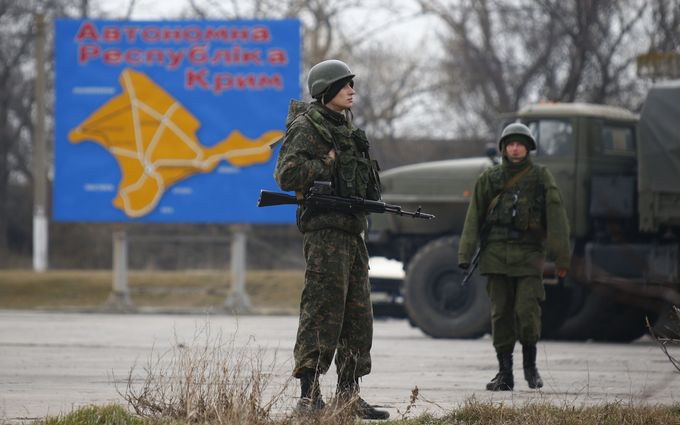 Россия оккупировала Крым в три этапа - разведка