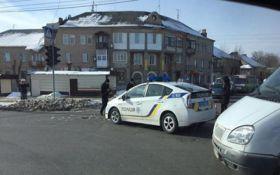 В Харькове авто полиции угодило в досадное ДТП: появилось фото