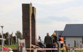 В министерстве культуры Польши заявили о законности демонтажа памятника воинам УПА