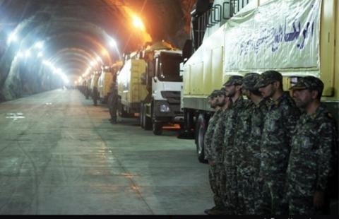 В Ірані показали підземну ракетну базу на глибині 500 метрів (5 фото) (1)