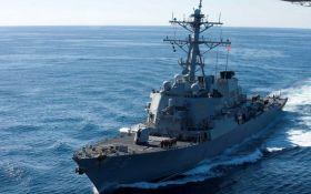 Зіткнення есмінця з танкером США в Тихому океані: з'явилися деталі