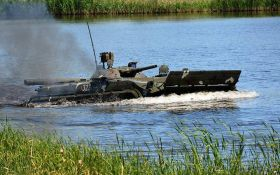 Підводні танки: Міноборони показало видовищне відео тренувань ЗСУ