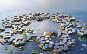Просто фантастика: ООН представила впечатляющий проект города на воде