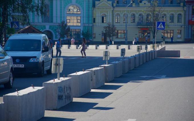 На Подолі в Києві створили експериментальну пішохідну зону: з'явилися фото (1)