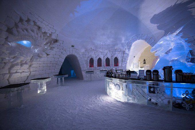 ВЛапландии открыли отель встиле сериала «Игра престолов»