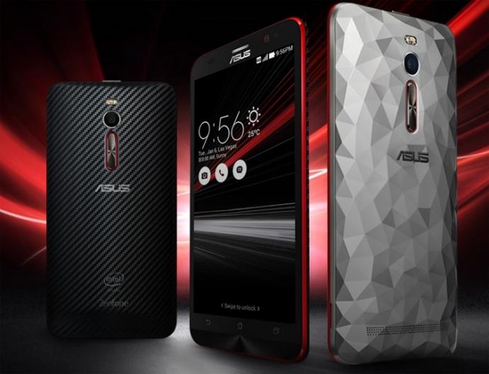 ASUS  представила обновлённый смартфон Zenfone 2 Deluxe Special Edition