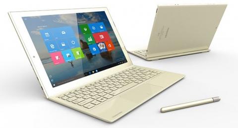 Toshiba анонсувала тонке і легке гібридний пристрій DynaPad (1)