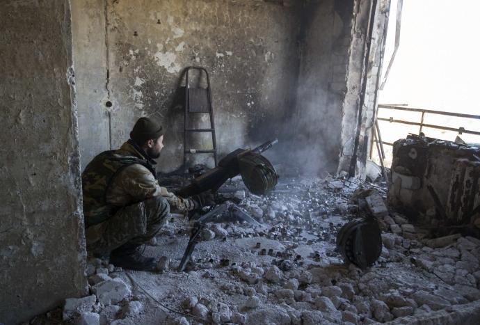 За прошлые сутки боевики 47 раз обстреливали позиции сил АТО (видео)