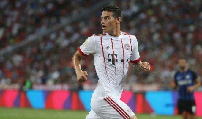 Хамес Родригес иТьяго Алькантара пропустят матч заСуперкубок Германии