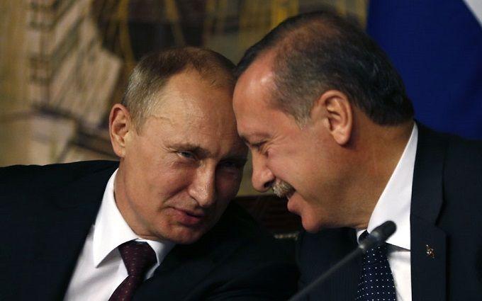 Путін і Ердоган дві години спілкувалися за зачиненими дверима: стали відомі подробиці