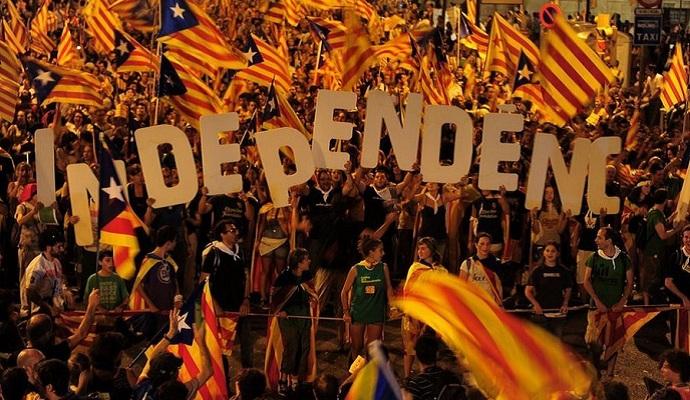 Лидер левой испанской партии поддержал стремление Каталонии провести референдум о независимости