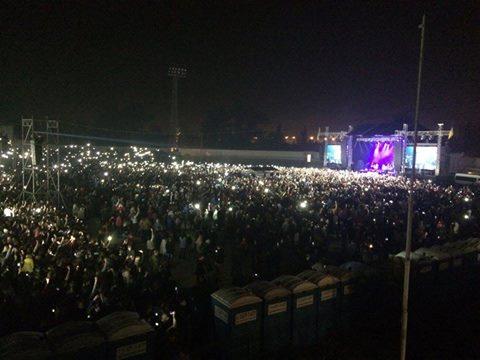 """""""Океан Ельзи"""" зіграв концерт на Донбасі: з'явилися яскраві фото та відео (1)"""