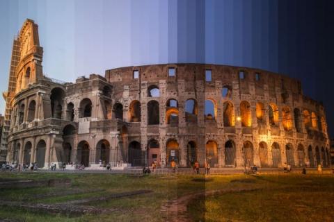 День и ночь на одном снимке. Удивительные кадры знаменитых достопримечательностей в необычном формате (14 фото) (3)