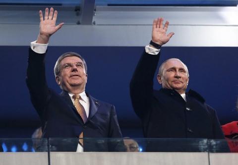 Церемония открытия Олимпиады-2014 (15 фото) (14)