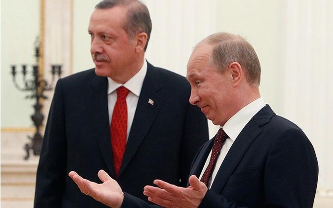 Дружба Ердогана і Путіна не буде довгою: з'явився прогноз