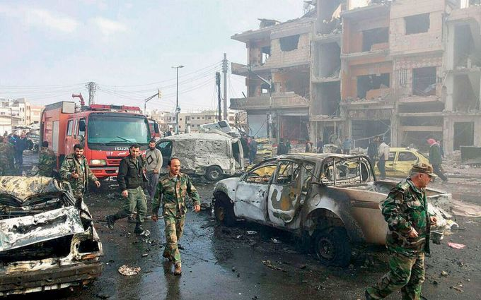 Взрывы в Дамаске унесли более 30 жизней: опубликованы фото