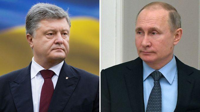 У РФ розповіли про бесіду Путіна з Порошенком