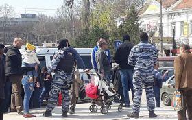 В оккупированном Симферополе начались массовые задержания: появилось фото