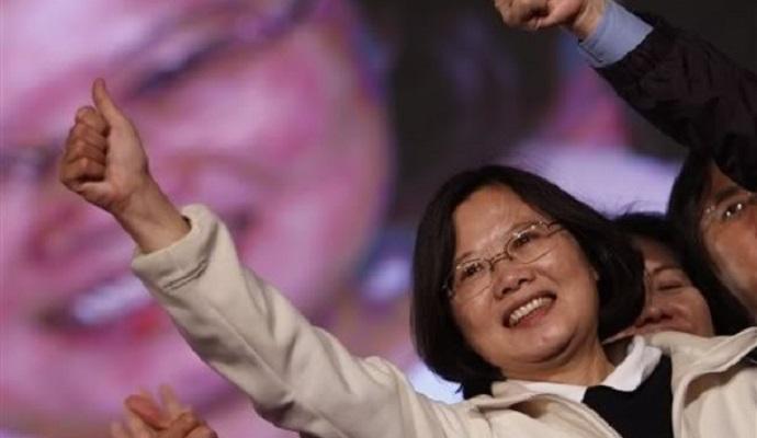 Тайвань впервые выбрал женщину на пост президента
