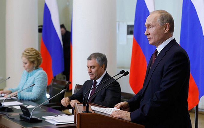 Как курица лапой: Путин оконфузился на встрече с чиновниками